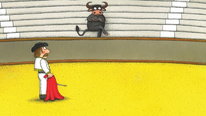 Die Vernissage am 12. März zeigt Cartoons von Alexander Wolf. © Alexander Wolf, AK Stmk