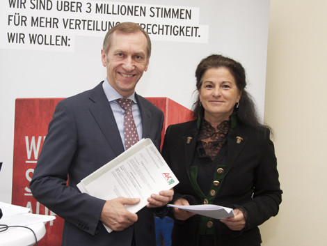 AK-Präsident Josef Pesserl, Mag. Claudia Brandstätter © Langmann, AK Stmk