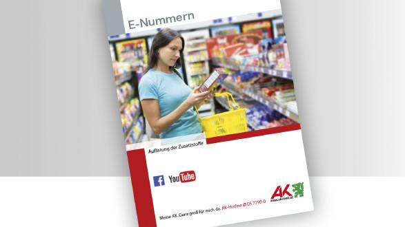 AK-Broschüre E-Nummern bei Nahrungsmitteln © -, AK Stmk