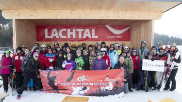 Besucherrekord beim AK-Skitag am Lachtal. © Temel, AK Stmk