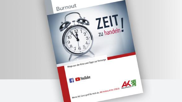 Broschüre Titelbild Burnout © -, -