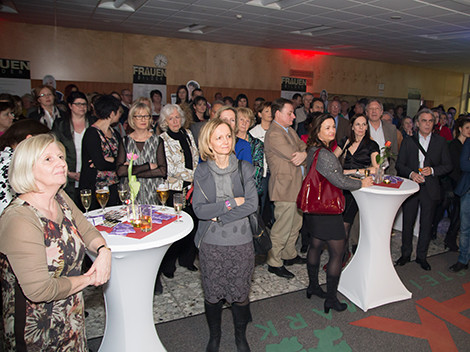 Großer Andrang im Foyer des Grazer Kammersaals © Graf, AK Stmk