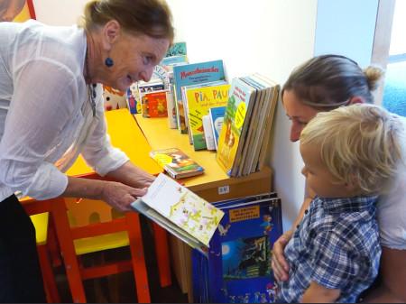Die Kinderbibliothek am LKH Graz ist für kranke Kinder und deren Eltern da © -, AK Stmk