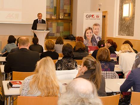AK-Präsident Josef Pesserl im Kleinen Kammersaal © Fotostudio 44, AK Stmk