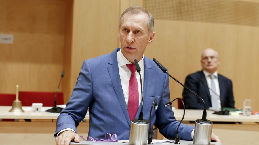 Präsident Josef Pesserl © Graf-Putz, AK