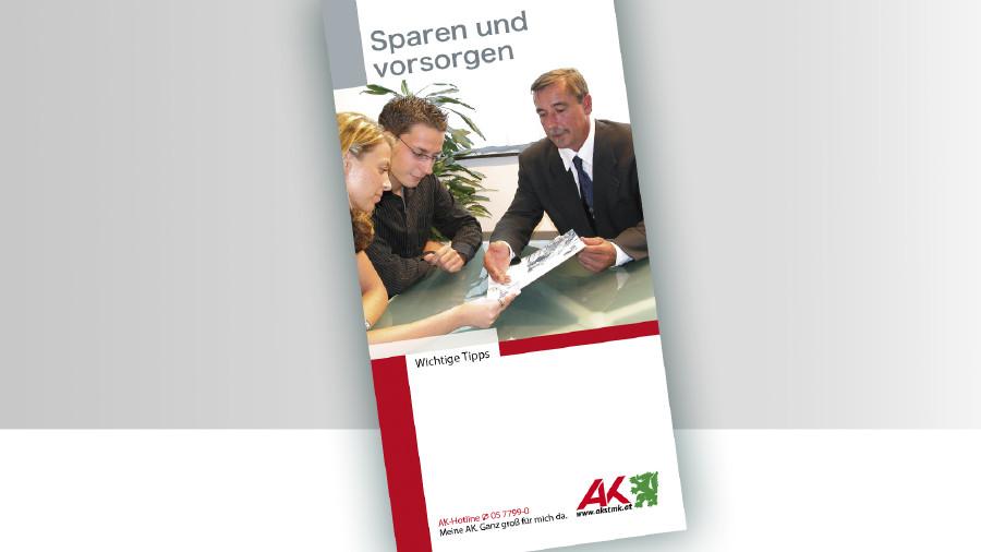 Broschüre Sparen und Vorsorgen © -, -