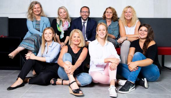 Das Team der VHS in Graz. © Kanizaj, AK Stmk