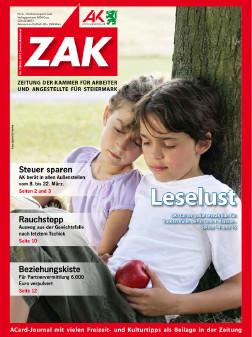 Deckblatt der ZAK im März 2013 © -, AK Stmk