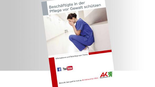 Broschüre Gewalt in der Pflege Titelbild © -, -