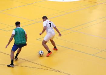 Hallenfußball: Vorentscheidung für Leoben und Mürztal © AK Stmk/Betriebssport