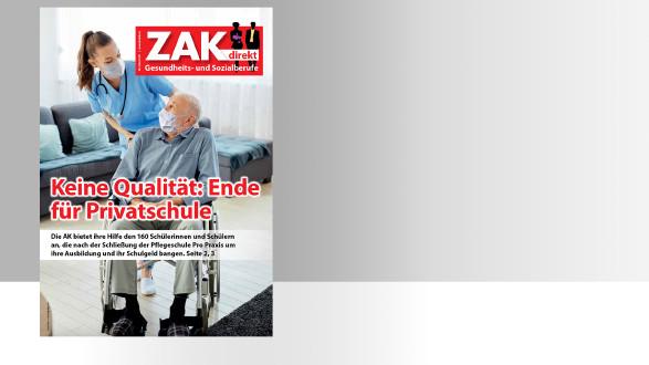 ZAK direkt Titelbild © -, AK Stmk