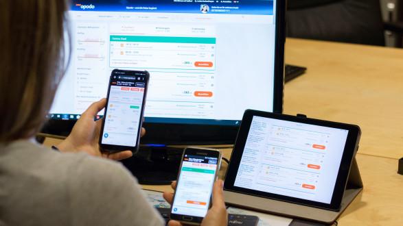 Preise variieren stark, je nachdem mit welchem Endgerät online gesucht wird. © Temel, AK Stmk
