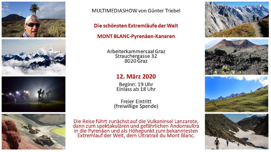 Einladung: Die schönsten Extremläufe der Welt. © Triebl, AK Stmk