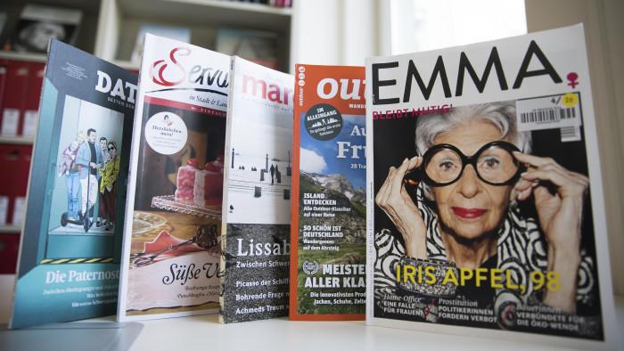 Die AK-Bibliothek hat mehr als 100 Zeitschriften und Zeitungen im Angebot. © Graf-Putz, AK Stmk