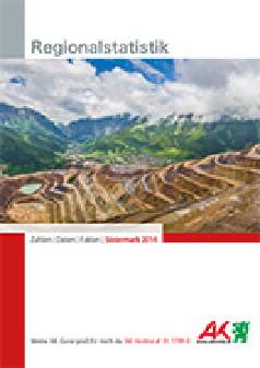 Cover Regionalstatistik mit Erzberg © A. Karnholz, AK Stmk