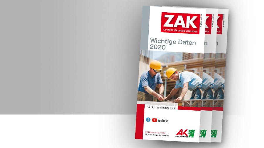 AK-Broschüre: Wichtige Daten 2020 © -, AK Stmk