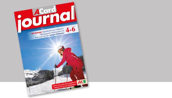 Das neue ACard-Journal im Dezember 2019. © AK Stmk