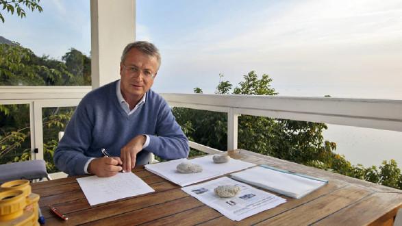 Veit Henichen liest in Graz aus seinem jüngsten Krimi. © Monika Loeff, AK Stmk