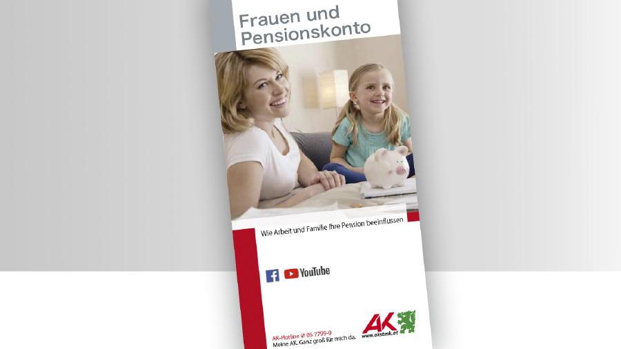 Broschüre Frauen und Pensionskonto © -, -