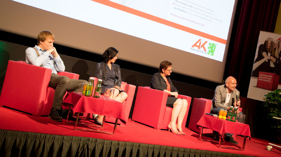 Edgar Martin, Annemarie Siegl, Elisabeth Aufreiter, Harald Stefan © Graf-Putz, AK Stmk