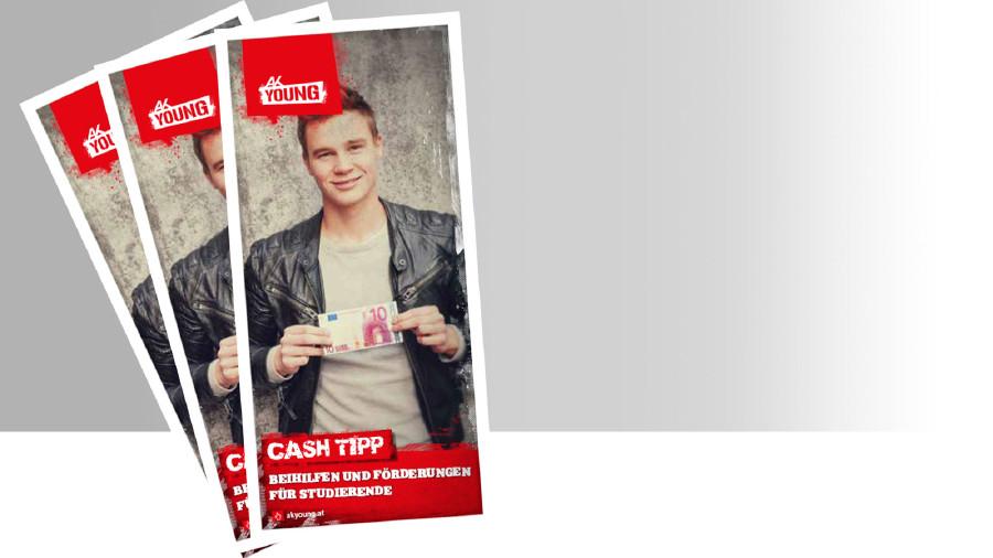 Broschüre: Cash-Tipps für Studierende © -, AK Stmk