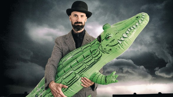 """Das Krokodil"" feiert am 20. Oktober Premiere. © Monika Zöhrer, AK Stmk"