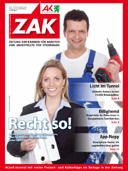Deckblatt der ZAK im Mai 2012 © -, AK Stmk