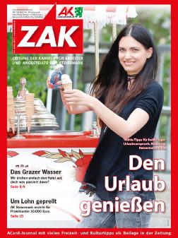 Urlaubs-Special in der neuen ZAK im Mai 2017. © Graf, AK Stmk