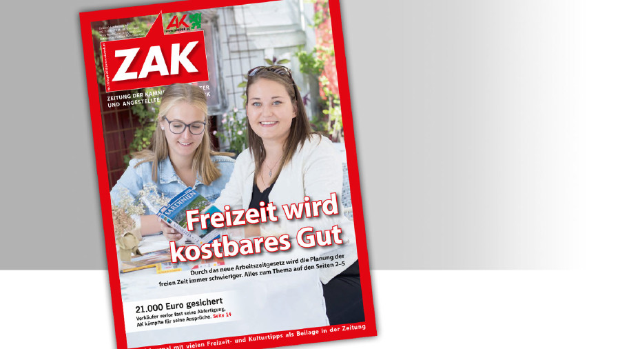 Die ZAK im September 2018 © -, AK Stmk