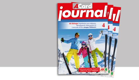 Angebote und Rabatte im ACard-Journal Februar 2019. © -, AK Stmk