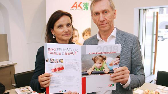 Kinderbetreuungsatlas  © AK Stmk, AK Stmk