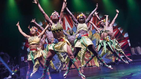 20 Prozent Ermäßigung auf Afrika! Afrika! mit der ACard. © nilz boehme, AK Stmk