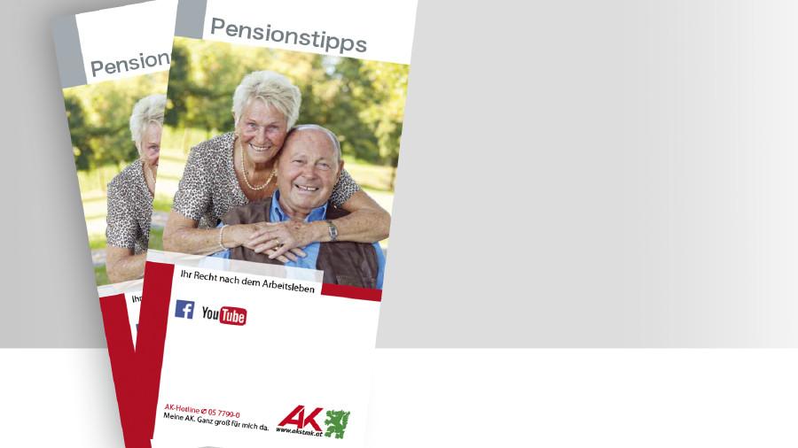 Broschüre Pensionstippps © -, -