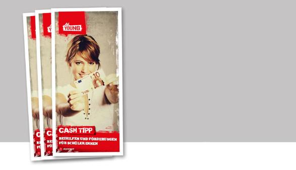 Diese Broschüre listet finanzielle Hilfen, die es für steirische SchülerInnen und deren Eltern gibt, auf. © -, AK Stmk
