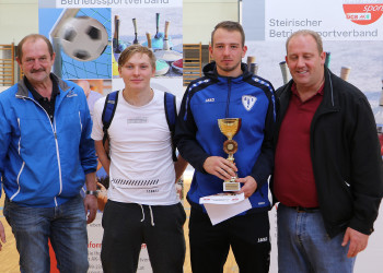 Hallenfußball Voitsberg © AK Stmk/Betriebssport
