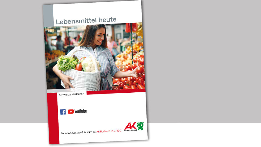 "Broschüre ""Lebensmittel heute"" Deckblatt © -, AK Stmk"