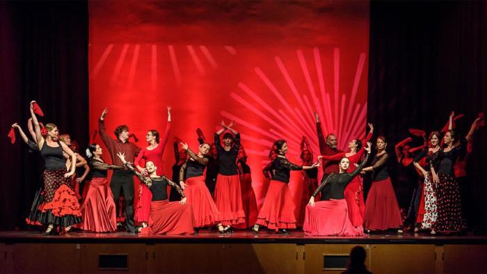 Show der academia flamenca las hermanas am 6. Juli um 18 Uhr in den Kammersälen in Graz. © Foto Franz Rauch, AK Stmk