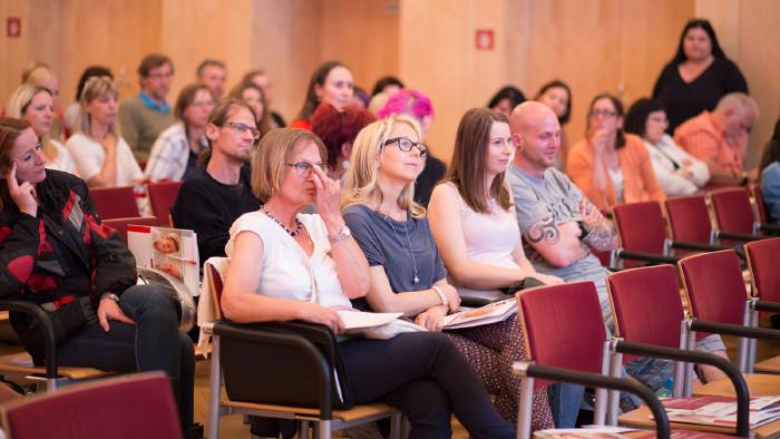 200 Interessierte bei der Tagung Gewalt gegen Pflegende © Graf-Putz, AK Stmk