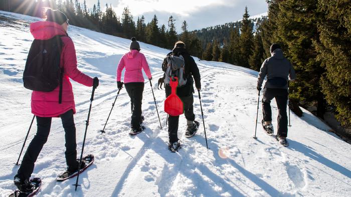 Schneeschuhwandern in der Steiermark © Judith Fuchs, AK Stmk