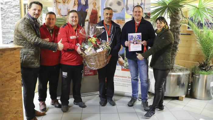 Das Sieger-Team der Stocksport-Betriebsmeisterschaft Südweststeiermark. © AK Stmk, -