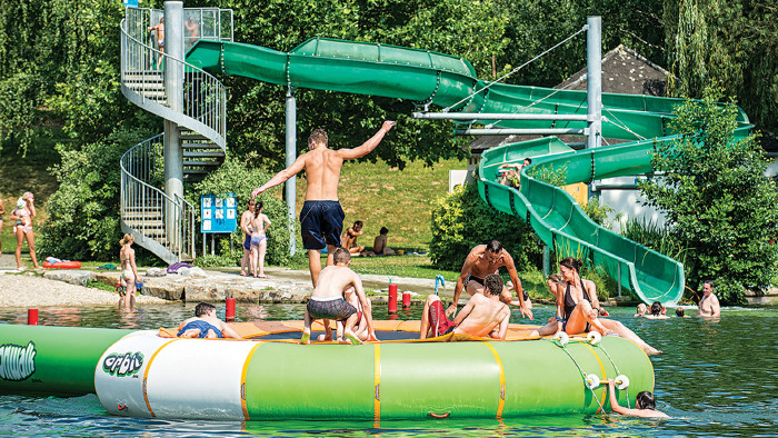 50 Prozent Ermäßigung mit der ACard am 21. Juli im Seebad in Riegersburg. © Derferder.at, AK Stmk