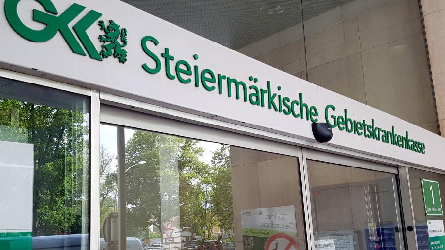 Steirische GKK © Ingrid Kornberger, APA