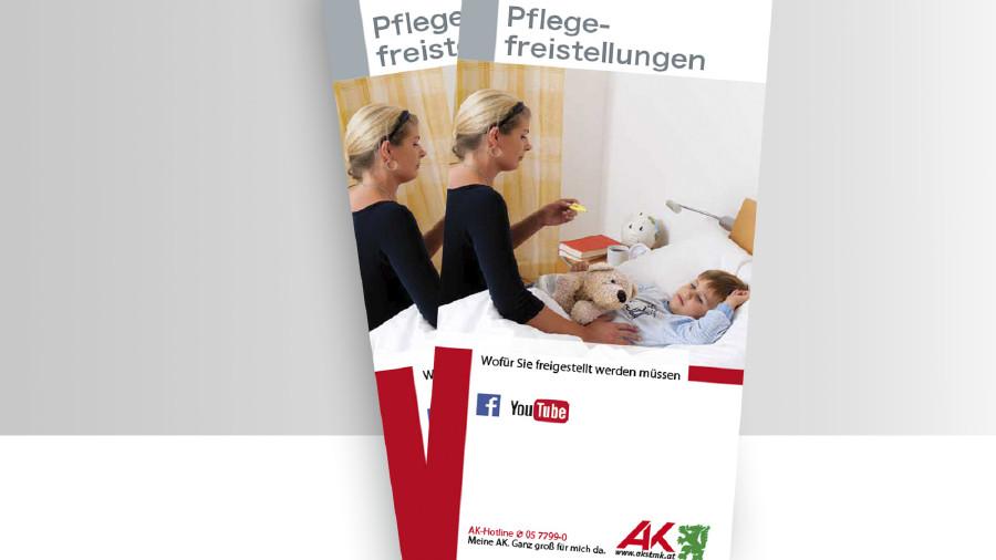 Broschüre Pflegefreistellung Titelbild © -, -