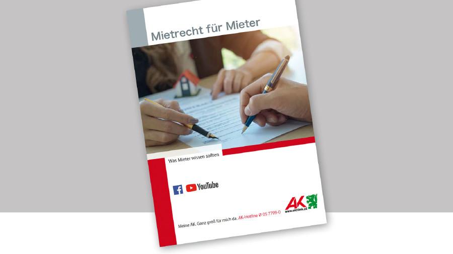 Broschüre Mietrecht für Mieter © -, AK Stmk