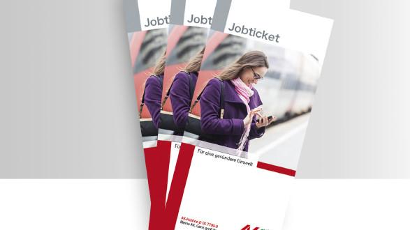 Broschüre Jobticket  © -, -