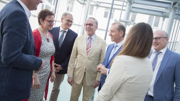 Bundesarbeitskammerpräsident Rudi Kaske mit AK-Präsident Josef Pesserl. © Graf-Putz, AK Stmk