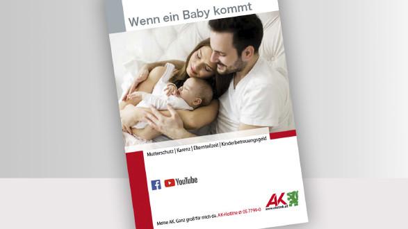 Broschüre Wenn ein Baby kommt © -, -