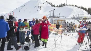 AK-Skitag auf der Riesneralm © Temel