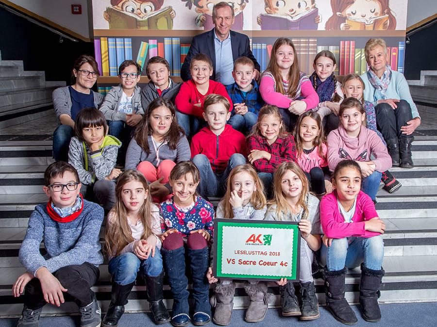 180 Schülerinnen und Schüler besuchten den Leselusttag 2018 in der AK. © Graf, AK Stmk