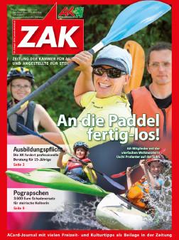 Titelblatt der ZAK im September 2016 © -, AK Stmk